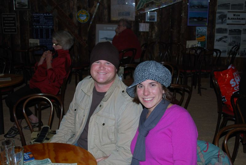 Luke and Faith on vacation in Alaska